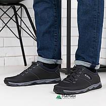 Кроссовки мужские чорние, фото 3