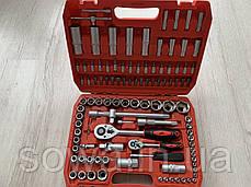 ✔️ Набор ключей, головок, инструментов Max - 108 шт ( противоударный кейс ), фото 2