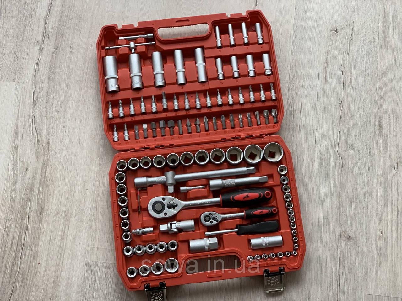 ✔️ Набор ключей, головок, инструментов Max - 108 шт ( противоударный кейс )