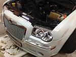 НАШИ РАБОТЫ: Установка DRL COB на Chrysler 300C