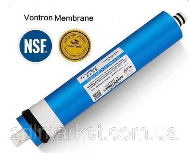 Мембрана для систем зворотного осмосу Vontron 100G, ULP2012-100