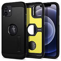 Чохол Spigen для iPhone 12 / 12 Pro Tough Armor, XP Black (ACS01710)
