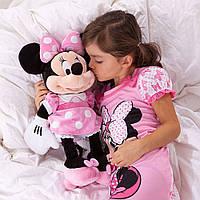 Мягкая игрушка Дисней () Минни Маус Minnie Mouse Plush - Pink —  48 см