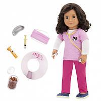 Виниловая кукла Палома Ветеринар, Our Generation, (46 см)