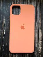 """Чехол Silicon iPhone 12  - """"Ярко-оранжевый №42"""""""