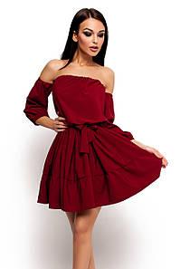Жіноче літнє плаття Karlin, марсала