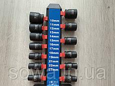 "Набор ударных головок LEX LXIS13 ( 1/2"" : 10-27 мм ), фото 3"