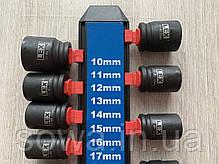 "Набор ударных головок LEX LXIS13 ( 1/2"" : 10-27 мм ), фото 2"