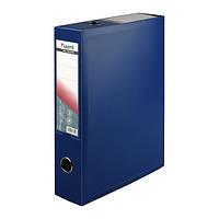 Папка-коробка сборная 70 мм, синяя