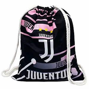 Рюкзак-мешок для хранения и переноса вещей Ювентус