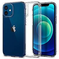 Чехол Spigen для iPhone 12 /  iPhone 12 Pro Ultra Hybrid, Crystal Clear (ACS01702)