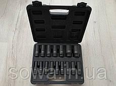 "Набор ударных головок LEX LXIS16E ( 1/2"" : 10-32 мм ), фото 2"