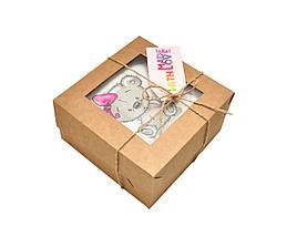 Тихая книга с мишкой Тедди для девочки, Развивающая книжка на липучках, 10 страниц, фото 3