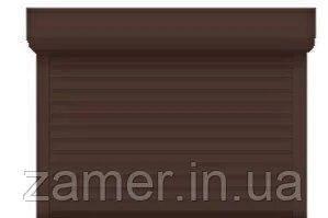 Захисні ролети коричневого кольору