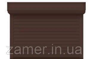 Защитные ролеты коричневый профиль