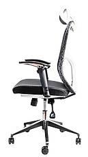Офисный стул из сетки Barsky Fly-03 Butterfly White/Black, фото 3