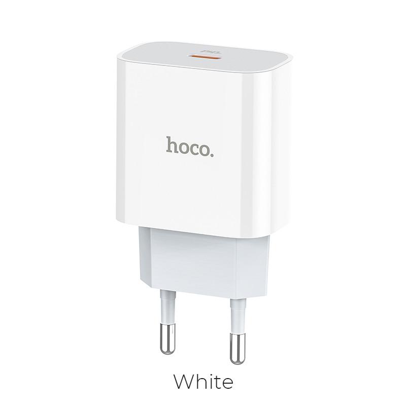 Адаптер сетевой HOCO Speed source C76A Type-C, PD3.0/QC, 3A, 18W (iphone/ipad)