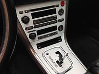 НАШИ РАБОТЫ: Пленка АРРА шлифованый алюминий в интерьер Subaru Legacy
