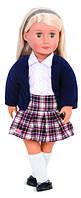 Вінілова лялька Емільєн в шкільній формі (46 см), Our Generation