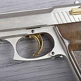 Пистолет сигнальный, стартовый Ekol Lady (9.0мм), сатин с позолотой, фото 4