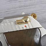 Пистолет сигнальный, стартовый Ekol Lady (9.0мм), сатин с позолотой, фото 5