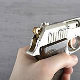 Пистолет сигнальный, стартовый Ekol Lady (9.0мм), сатин с позолотой, фото 7