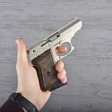 Пистолет сигнальный, стартовый Ekol Lady (9.0мм), сатин с позолотой, фото 8