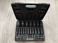 "Набор ударных головок LEX LXIS20E ( 1/2"" : 10-38 мм ), фото 2"