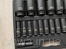"Набор ударных головок LEX LXIS20E ( 1/2"" : 10-38 мм ), фото 3"