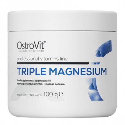 Комплекс магнію OstroVit Triple Magnesium 100 g, фото 2