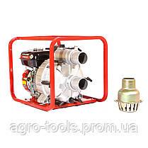 Мотопомпа бензинова WEIMA WMPW80-26 для брудної води (78 куб. м/год), фото 3