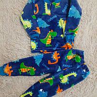 Теплющая махровая пижама от 80 до 116 см