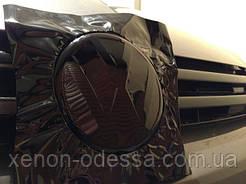 НАШИ РАБОТЫ: VW Golf 7 R антихром эмблем