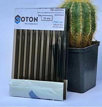 Полікарбонат сотовий (стільниковий) SOTON бронзовий 10мм 2,1*6м