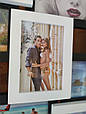 Деревянная мультирамка для фото 12 в 1 Руноко Зигзаг Белое и Черное, фото 4