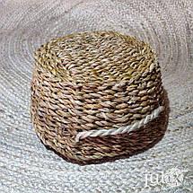 Кашпо плетеное (подвесное), фото 3