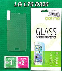 Защитное стекло для LG L70 D320