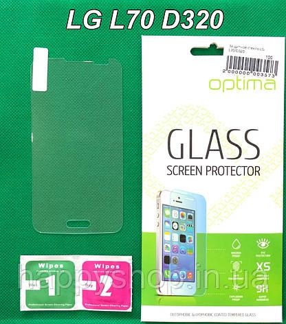 Защитное стекло для LG L70 D320, фото 2
