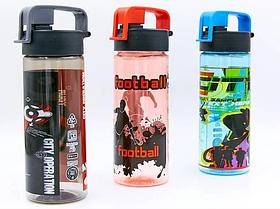 Бутылка для воды спортивная SP-Planeta FOOTBALL 500 мл 6633 (PС, цвета в ассортименте)