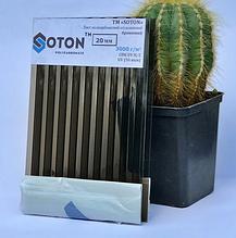 Полікарбонат сотовий (стільниковий) SOTON бронзовий 20мм 2,1*6м