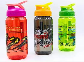 Бутылка для воды спортивная SP-Planeta SPORT 500 мл 1821 (PС, цвета в ассортименте)