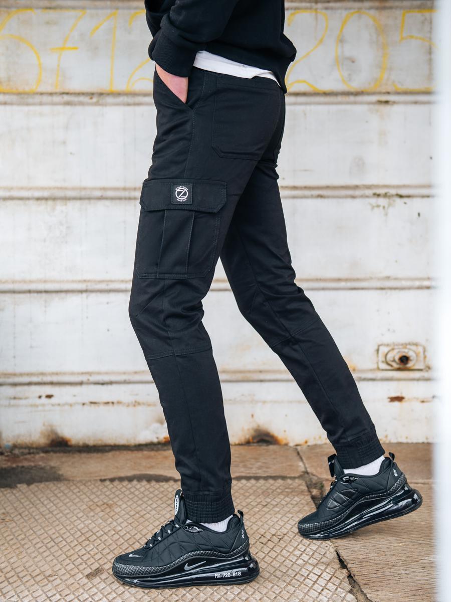 Карго брюки BEZET Basic black'20 - S