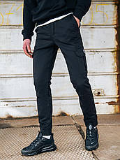 Карго брюки BEZET Basic black'20 - S, фото 2