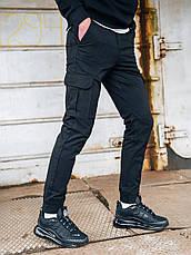 Карго брюки BEZET Basic black'20 - S, фото 3