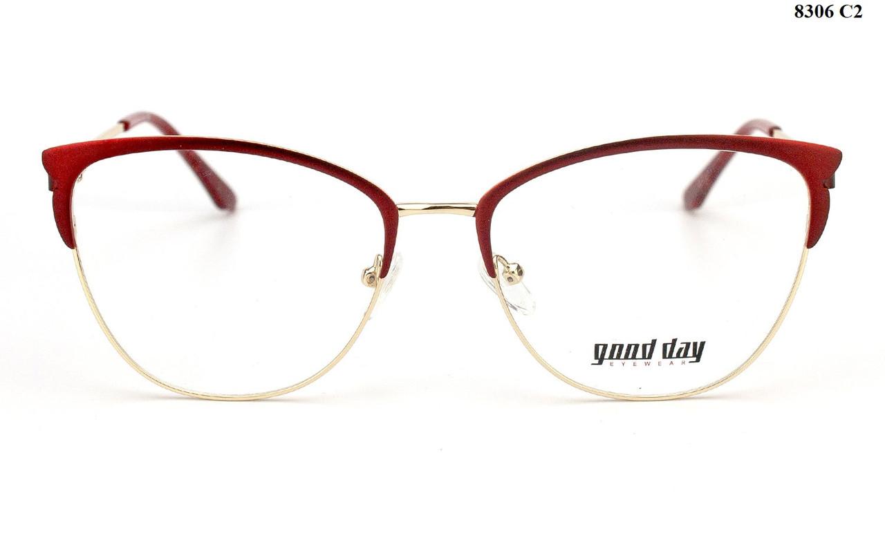 Оправа для очков красная (можно вставить линзы по рецепту)