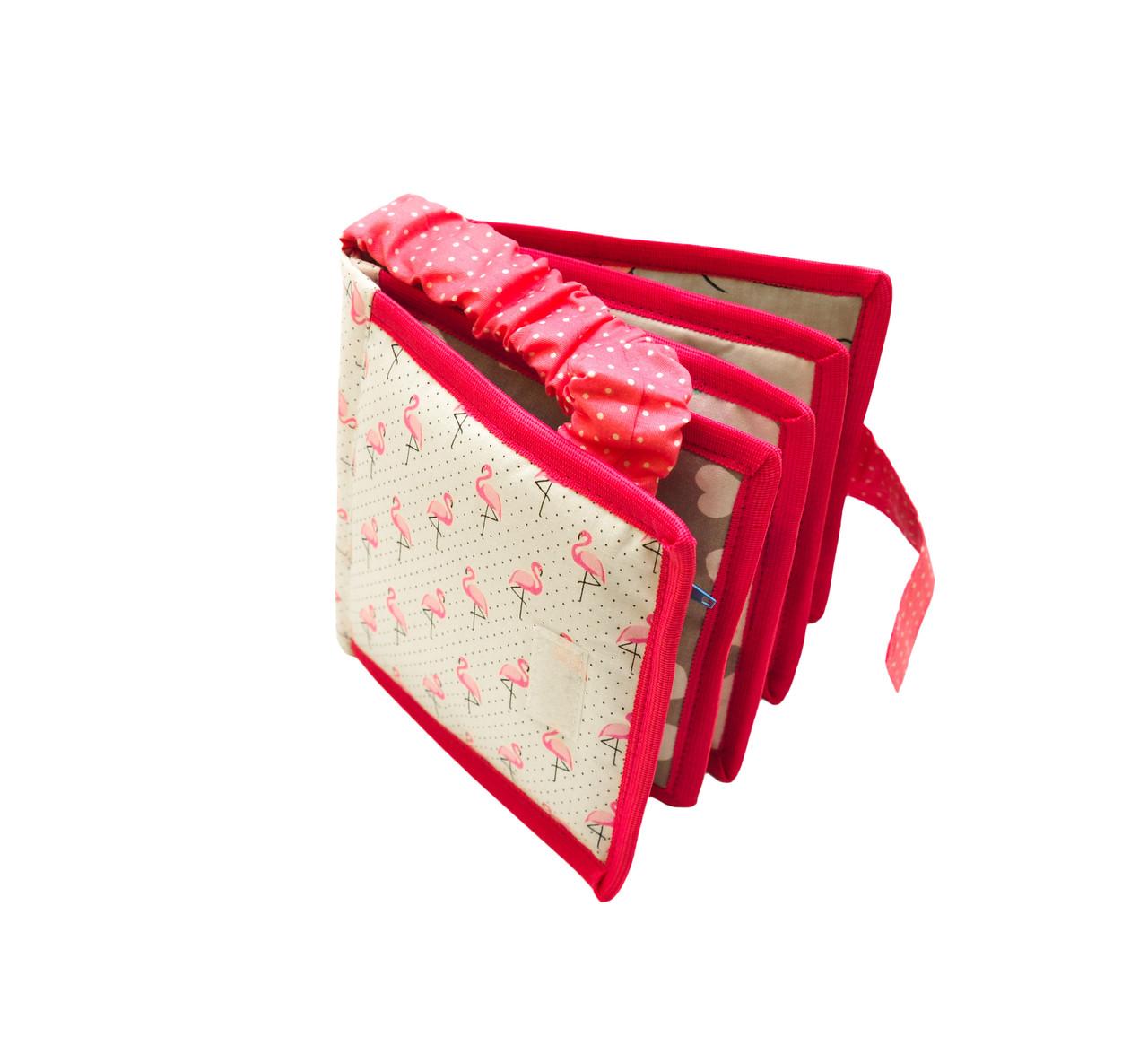 3д книга с фетра, Книжка из фетра для девочки Handmade, 10 страниц