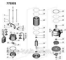 Каналізаційний Насос 1.1 кВт Hmax 7м Qmax 270л/хв (з ножем) AQUATICA (773331), фото 2