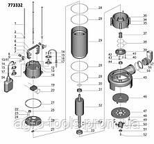 Каналізаційний Насос 1.3 кВт Hmax 12м Qmax 300л/хв (з ножем) AQUATICA (773332), фото 2