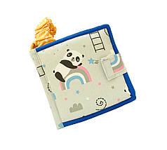 Развивающие книжки из фетра, Мягкие книжки на липучках Handmade, 10 страниц, фото 2