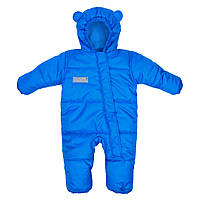 Комбинезон зимний детский Discovery Голубой / Детские зимние комбинезоны, фото 1